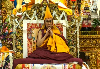 I'll live at least for more than a hundred years: His Holiness the Dalai Lama of Tibet