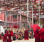 China Tears Down the Tibetan City in the Sky